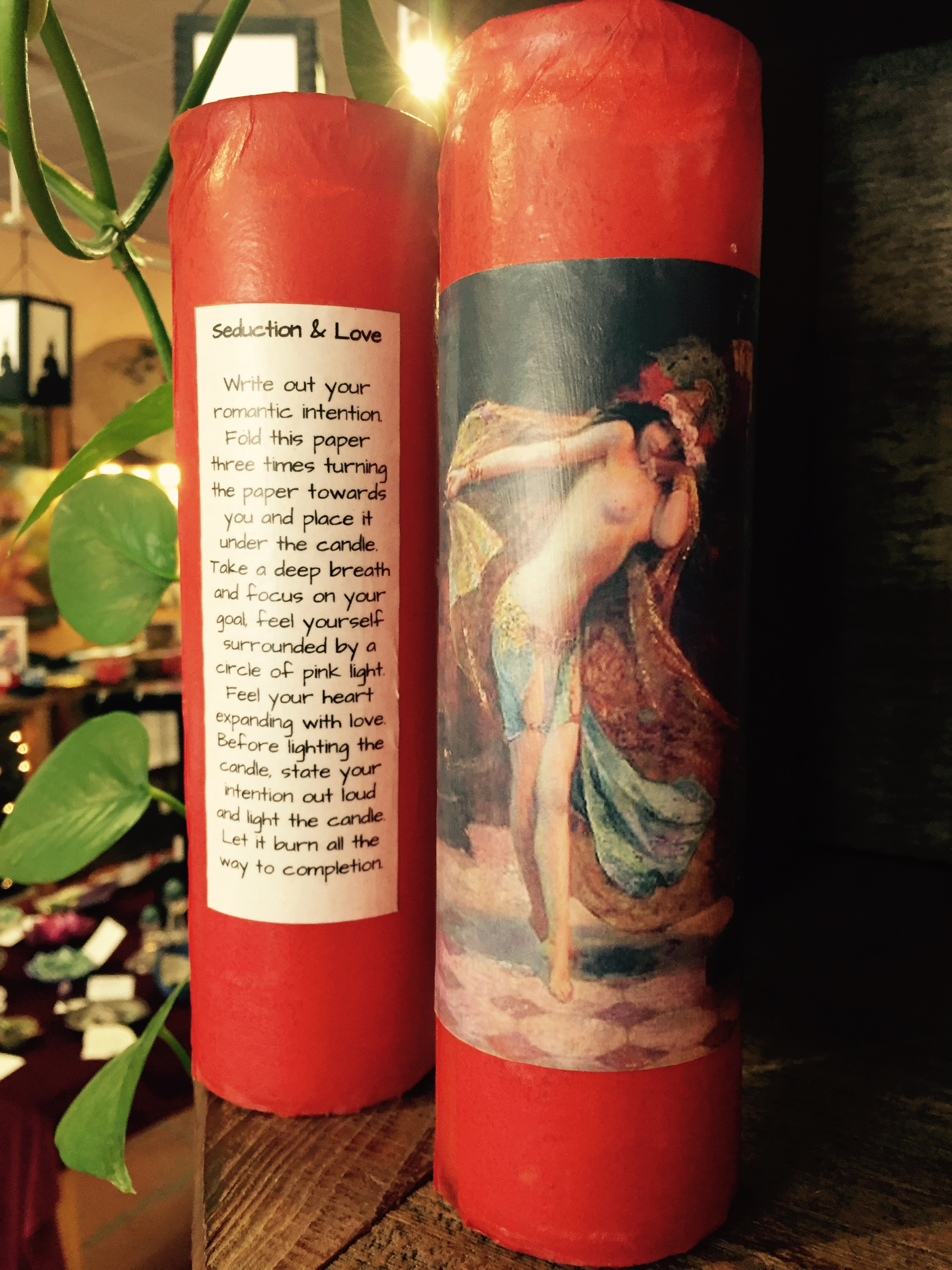 Seduction & Love Spell Candle